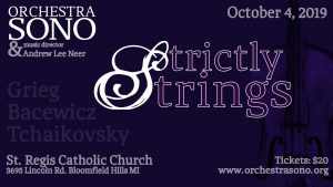 Strictly Strings of Sono @ St. Regis Catholic Church